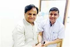 rajender rana met from congress leaders in delhi