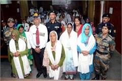 1965 indo pak war martyr s heroic women honored