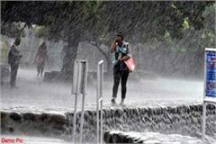 warning of weather department heavy rain in himachal in 2 days