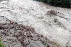 cloudburst in upper area of palampur administration issued alret