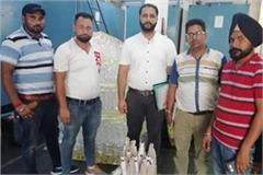 basti ram s shopkeepers protest against raid on health department