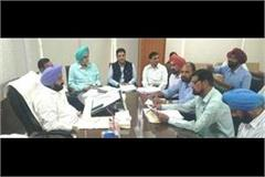 joint forum meeting with power minister gurpreet kangad