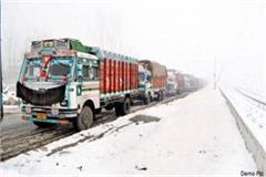 mandi s 50 truck drivers are stranded in keylong from 6 days