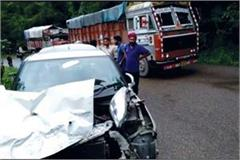 collision between car and truck youth injured