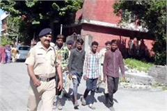 4 arrested during stolen in indian technomac company
