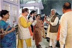 bjp s diner diplomacy in oakover counsel about on chairman vice chairman