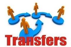 transfer of education officers of 14 districts