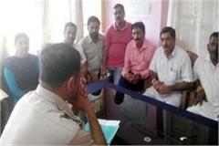 jawali congress lodged complaint against bjp leader