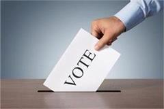 election of district council 63 percent voting for 311 candidates