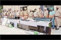 three members of haryana gang were arrested