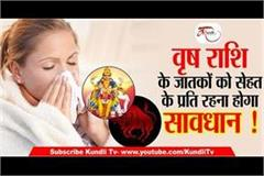 taurus people will have to be careful about their health
