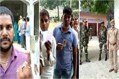 up by election voting continues amid tight security for ghosi assembly