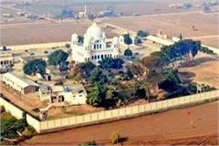 despite the indo pak tension work of kartarpur sahib continues