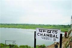 forest department s objection to giving chambal water to gwalior
