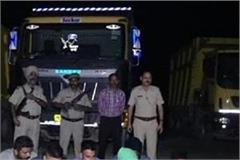 police run on mining mafia