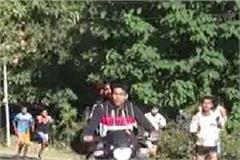 nurpur ran against drug addiction