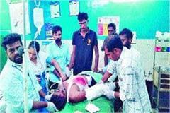electric pole broken worker fell from 35 feet height