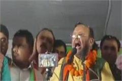 rampur suresh khanna roared in azam khan s stronghold