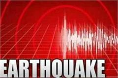 earthquake tremors felt in gohana no loss of life or property