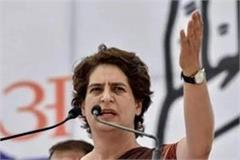 priyanka lashes out at up government for committing suicide