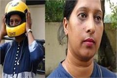 kanta becomes jalandhar s first female taxi driver