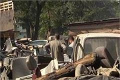 dumping yard built in sundernagar by keeping rules villagers upset