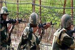 intruder trying to enter indian border