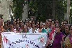 women officers and employees made aware under sahi poshan desh roshan