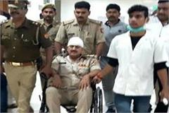 villagers attacked police constables and soldiers beaten up with trees