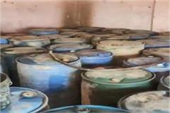 17 thousand liters of diesel seized from former sarpanch dhaba