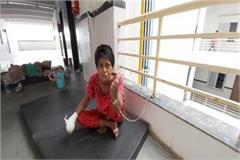 treatment of woman tied to chains in chhatarpur government hospital
