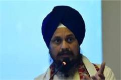 akal takht chief harpreet singh on rss ban