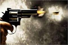 drunk youth showered bullets on the car