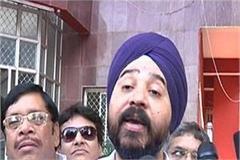 narendra saluja targets bjp