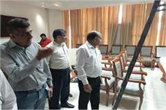 dushyant court will decorate on the fifth floor room rejuvenation begins