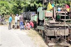 work started on bankhandi haripur road