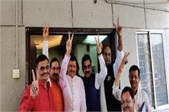 bjp mla narayan tripathi returns to bjp