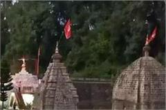 here the temple of shani dev