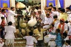annakoot celebrated in jaunpur worship of govardhan