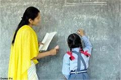 900 new teachers will be posted in schools