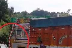 tremendous road accident on manali kiratpur nh