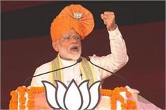 pm modi election rally in ballabhgarh said opposition is stunned
