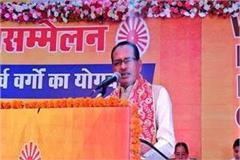shivraj attakcs on congress