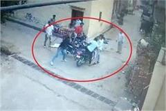 crash case occurred on polling day cctv video of attack surfaced