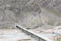 vehicles will run soon from himachal longest steel bridge