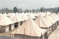 online and offline booking of tent city started in dera baba nanak