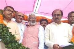 many sp leaders join bjp in presence of swatantra dev singh
