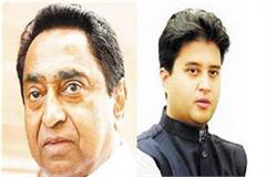 scindia wrote a letter to kamal nath