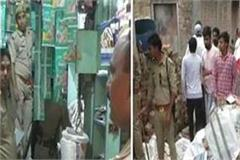 mau 10 lakh cracker recovered in police raid accused arrested
