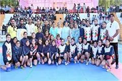 women inter college kabaddi championship
